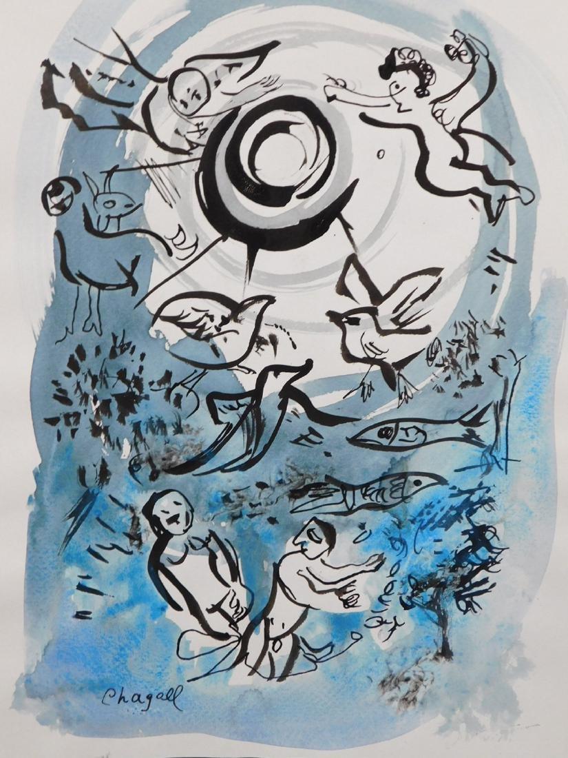 Marc Chagall: Cherub Scene