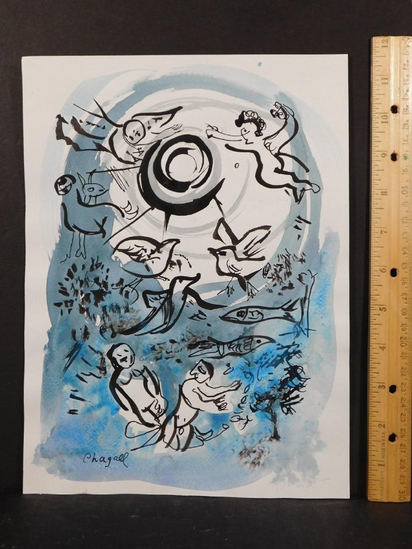 Marc Chagall: Cherub Scene - 2