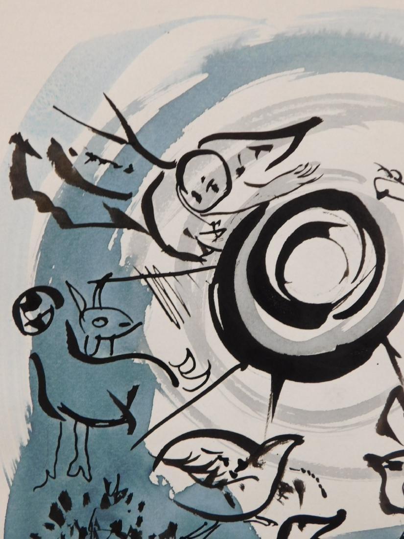 Marc Chagall: Cherub Scene - 4