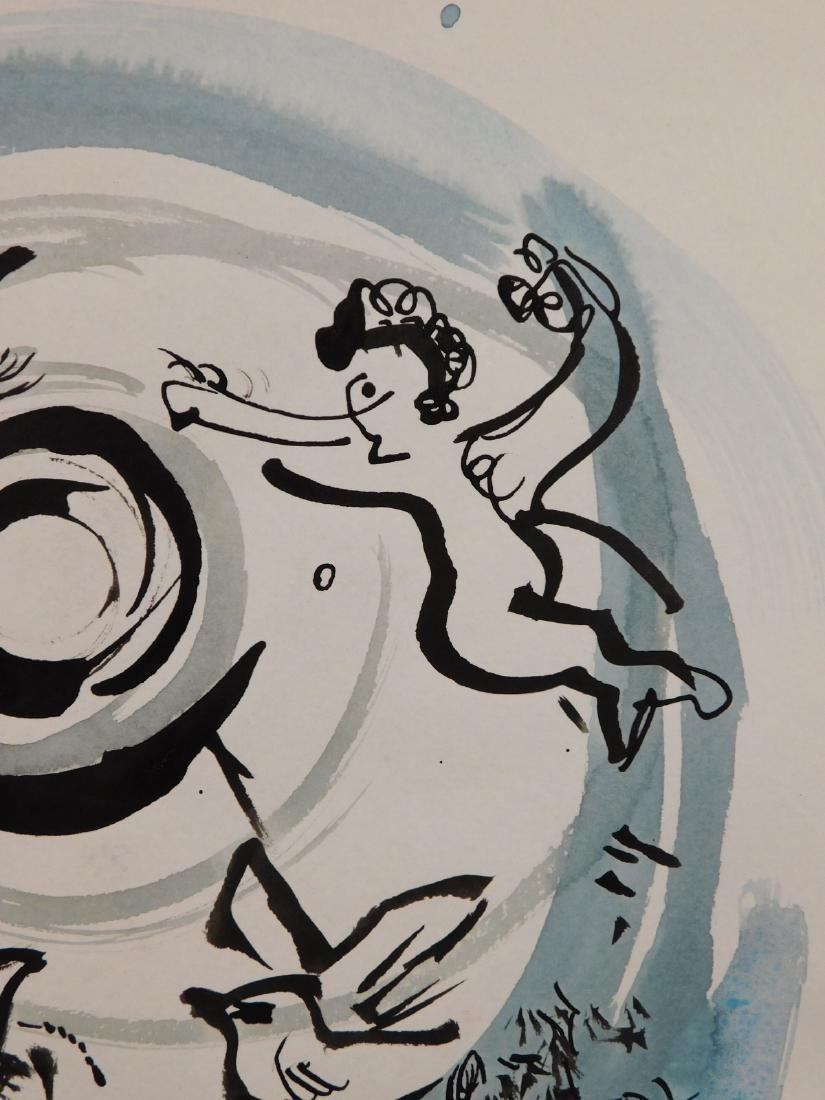 Marc Chagall: Cherub Scene - 5