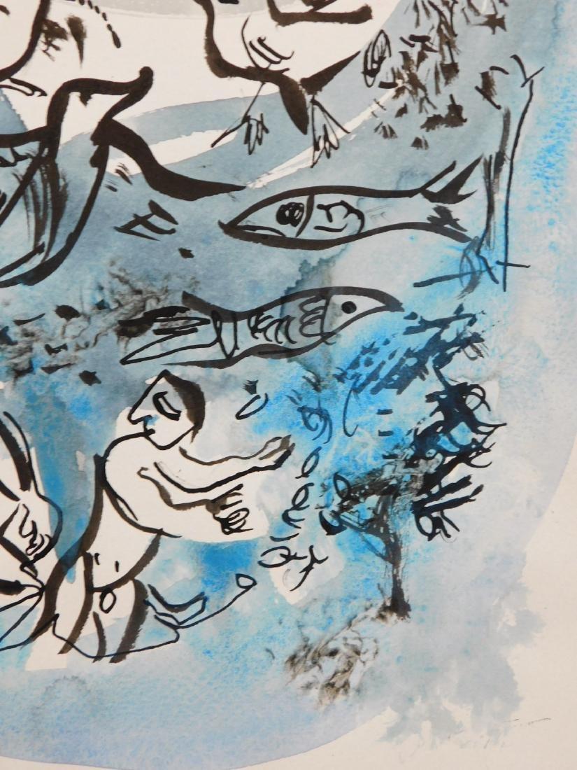Marc Chagall: Cherub Scene - 6