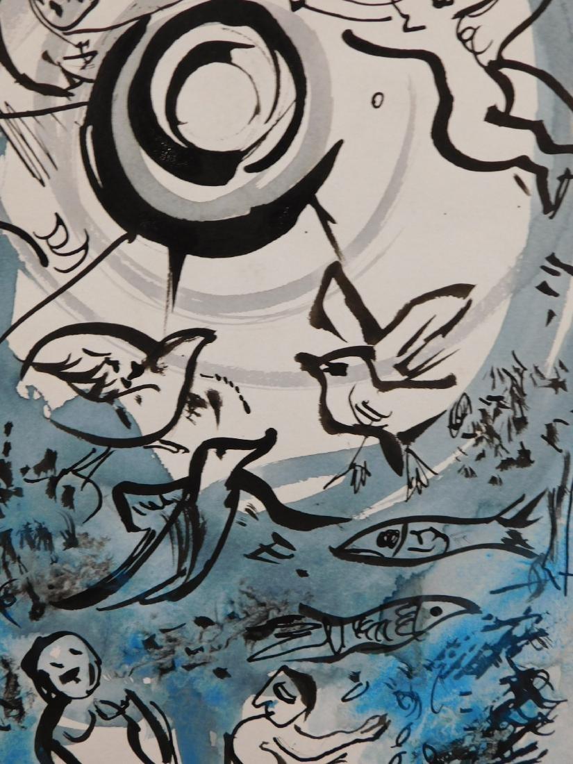 Marc Chagall: Cherub Scene - 8