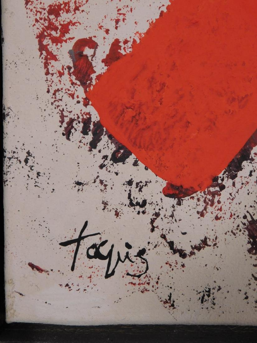 Antoni Tapies: Abstract Painting - 3