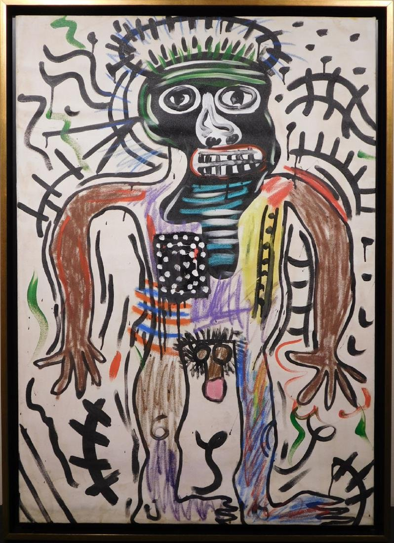 Jean Michel Basquiat: Untitled