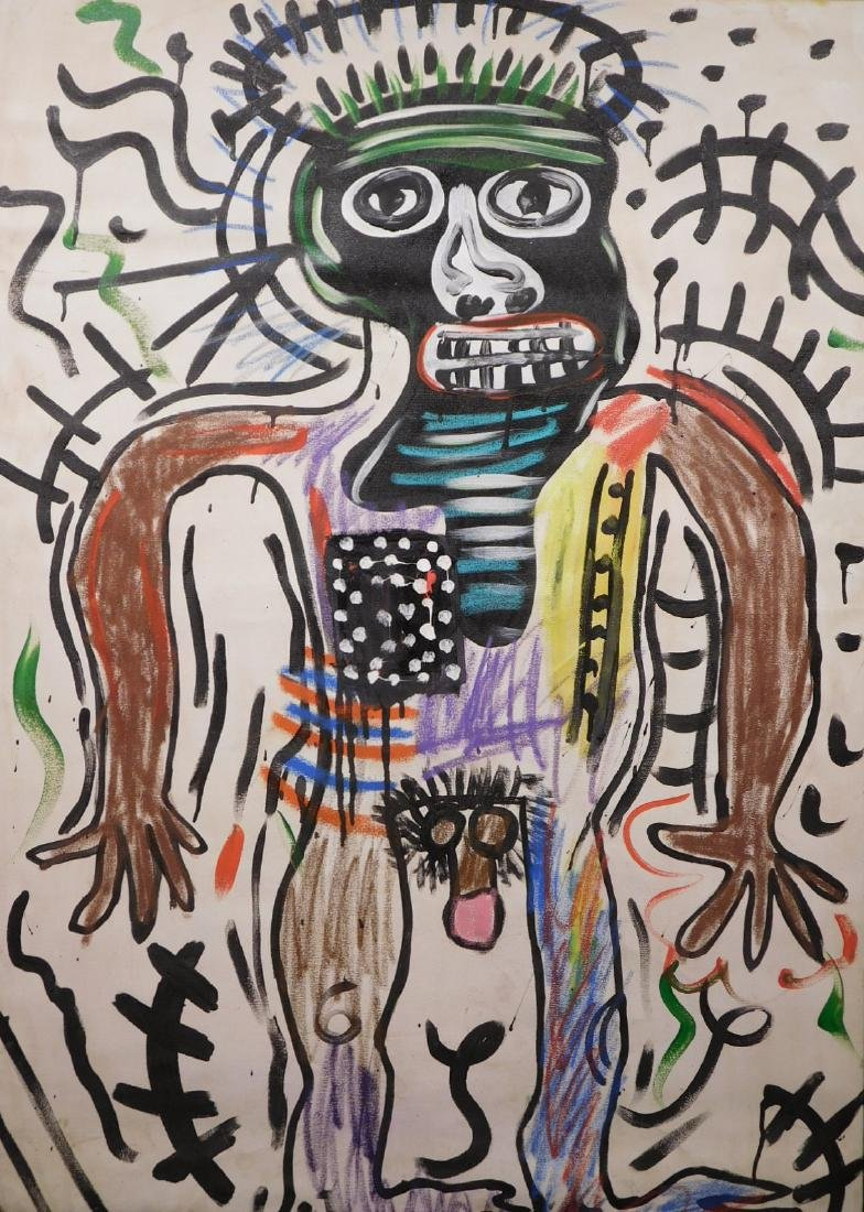 Jean Michel Basquiat: Untitled - 2