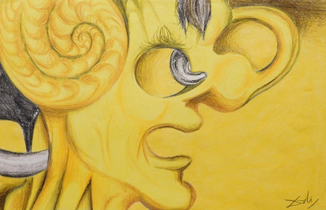 Salvador Dali: Picasso Portrait