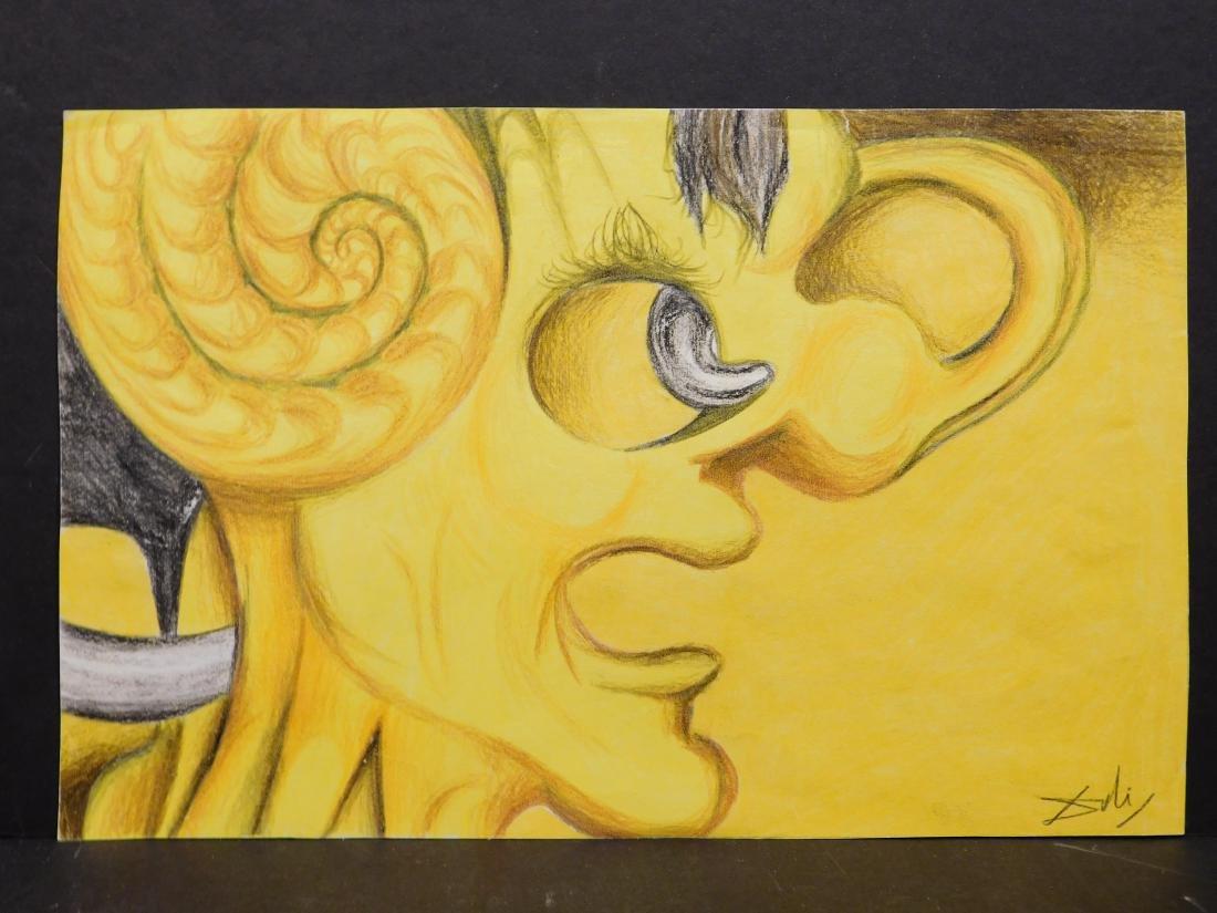 Salvador Dali: Picasso Portrait - 2