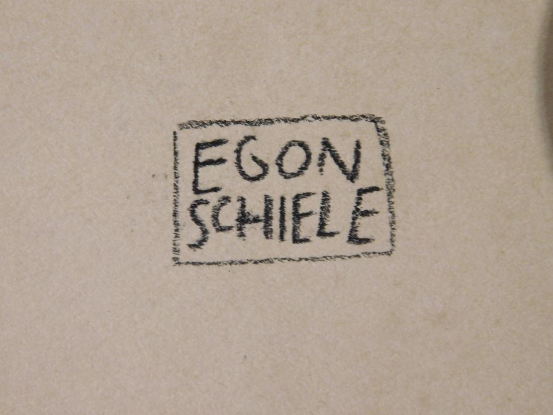 Egon Schiele: Self Portrait Study - 6