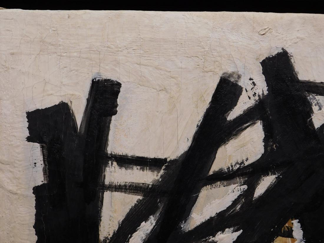 Franz Kline: Abstract Composition - 6