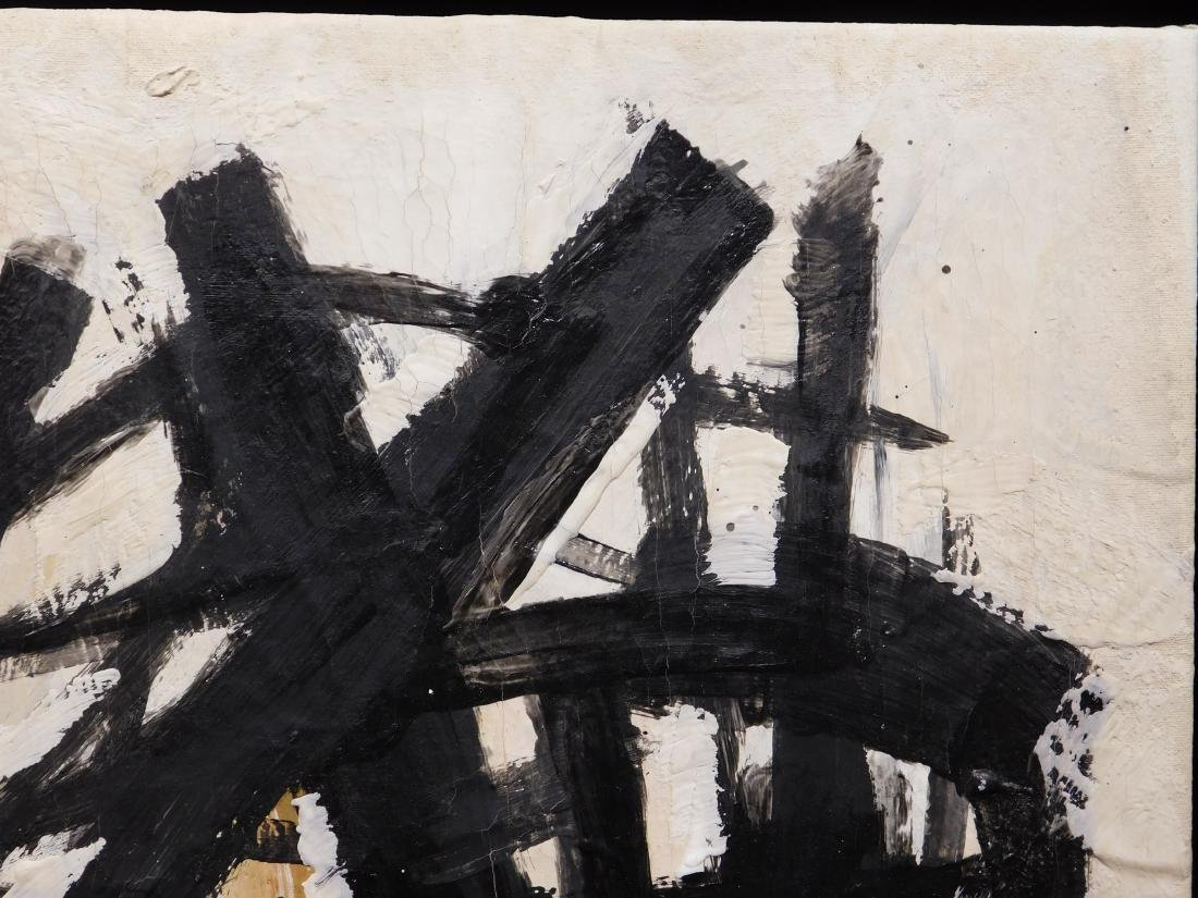 Franz Kline: Abstract Composition - 7