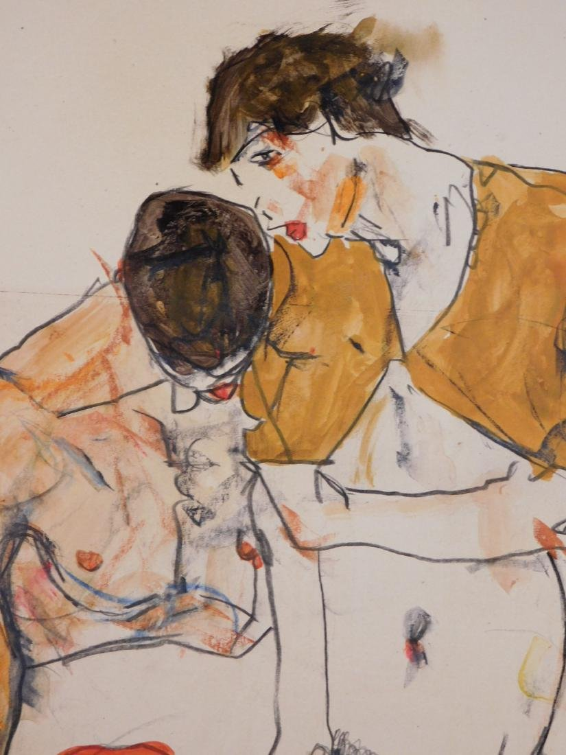 Egon Schiele: Two Figures - 2