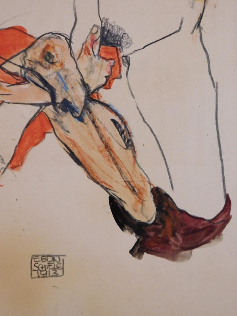 Egon Schiele: Two Figures - 3