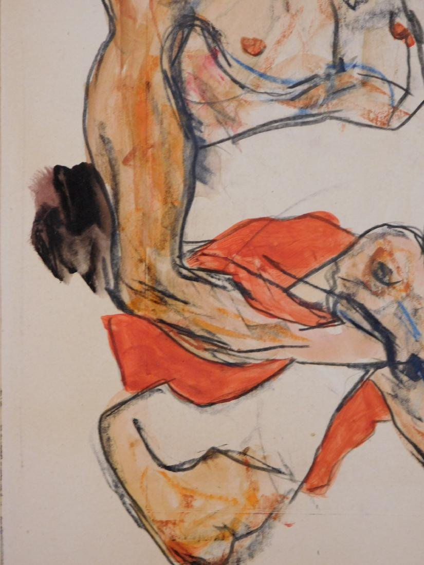 Egon Schiele: Two Figures - 4