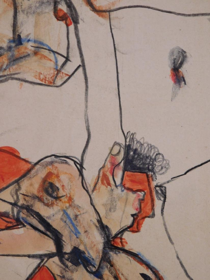 Egon Schiele: Two Figures - 6