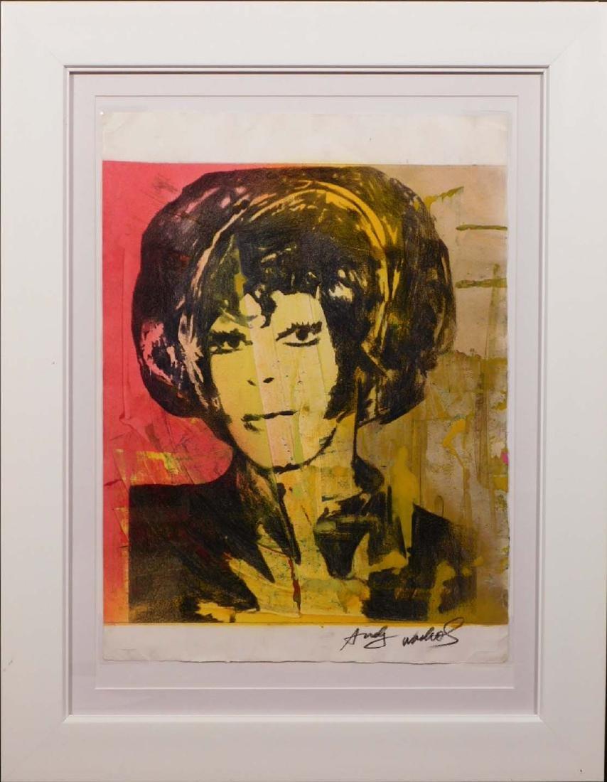 Andy Warhol: Woman with Bob Haircut