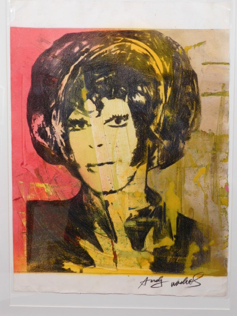 Andy Warhol: Woman with Bob Haircut - 2