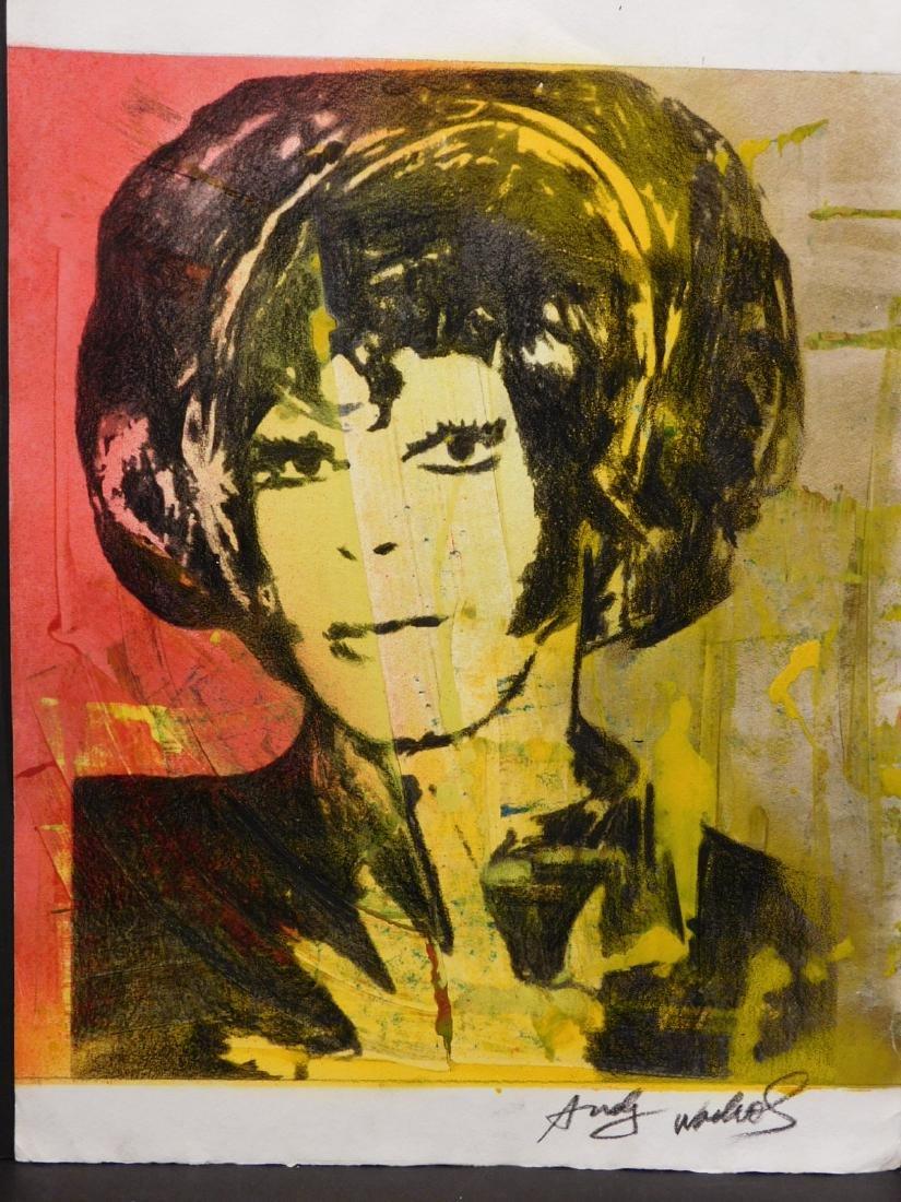 Andy Warhol: Woman with Bob Haircut - 4