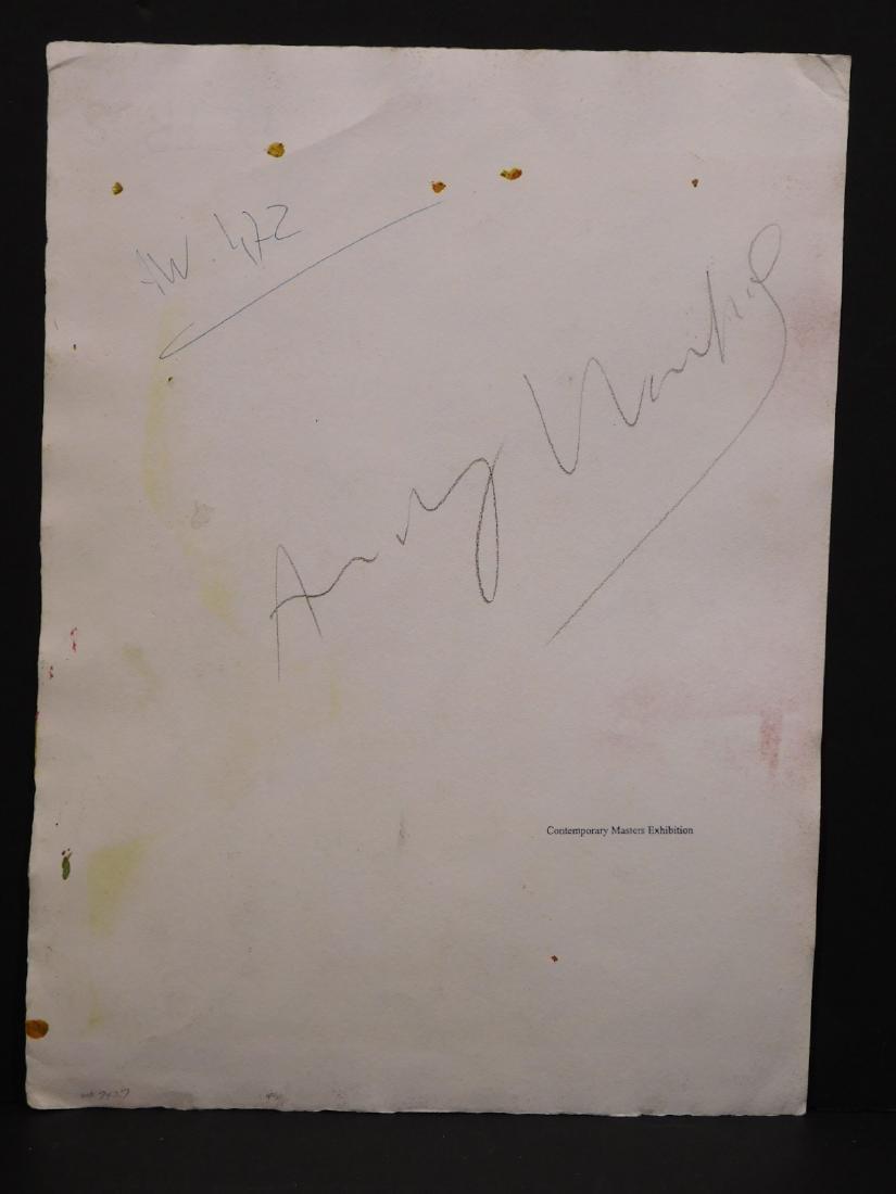 Andy Warhol: Woman with Bob Haircut - 7