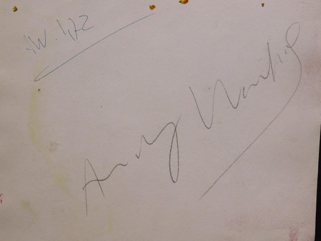 Andy Warhol: Woman with Bob Haircut - 9