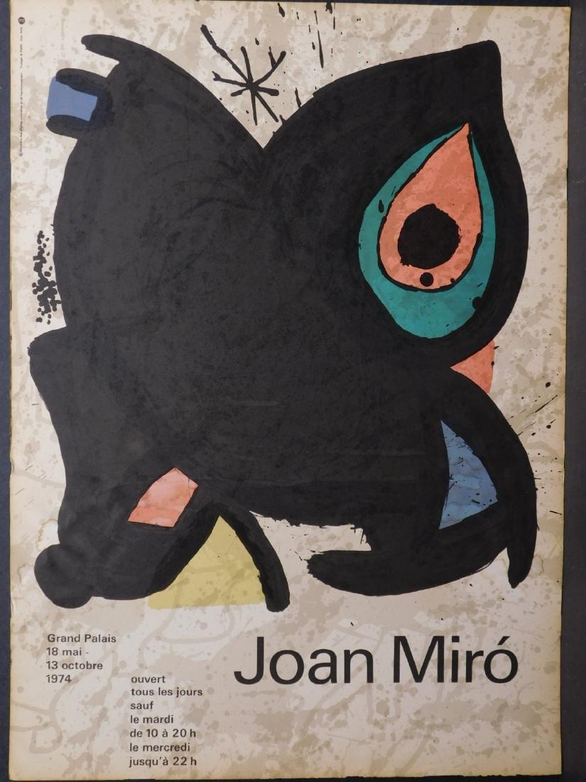 Joan Miro: Original Lithograph Exhibition Poster - 2
