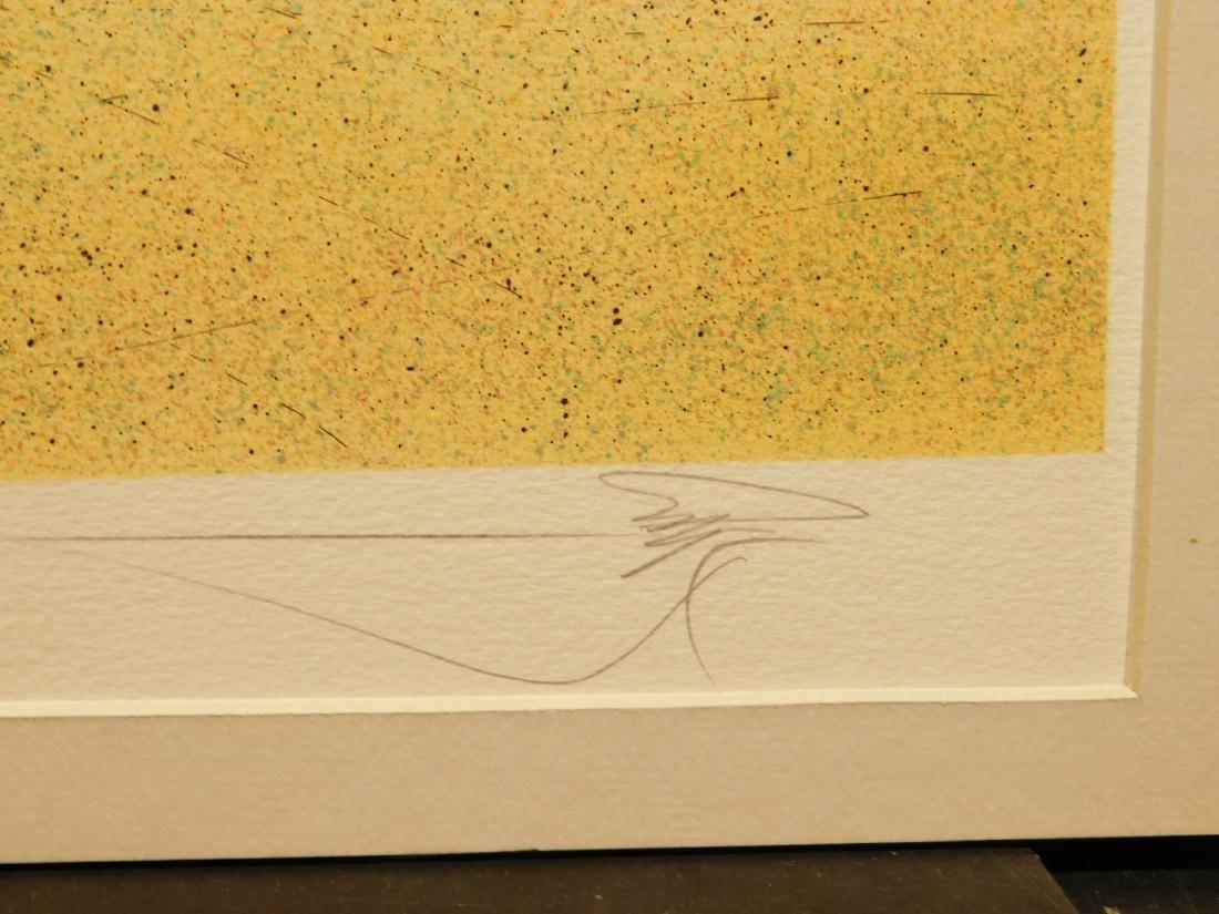 Rafflewski: Le Jarcin de Sculpture, signed lithograph - 6