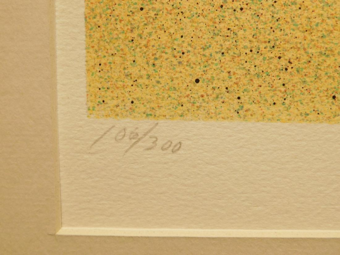 Rafflewski: Le Jarcin de Sculpture, signed lithograph - 7
