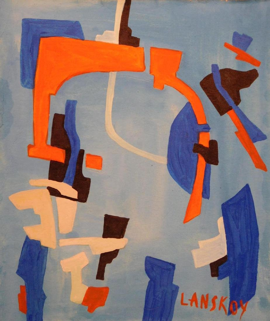 Andre Lanskoy: Abstract Composition