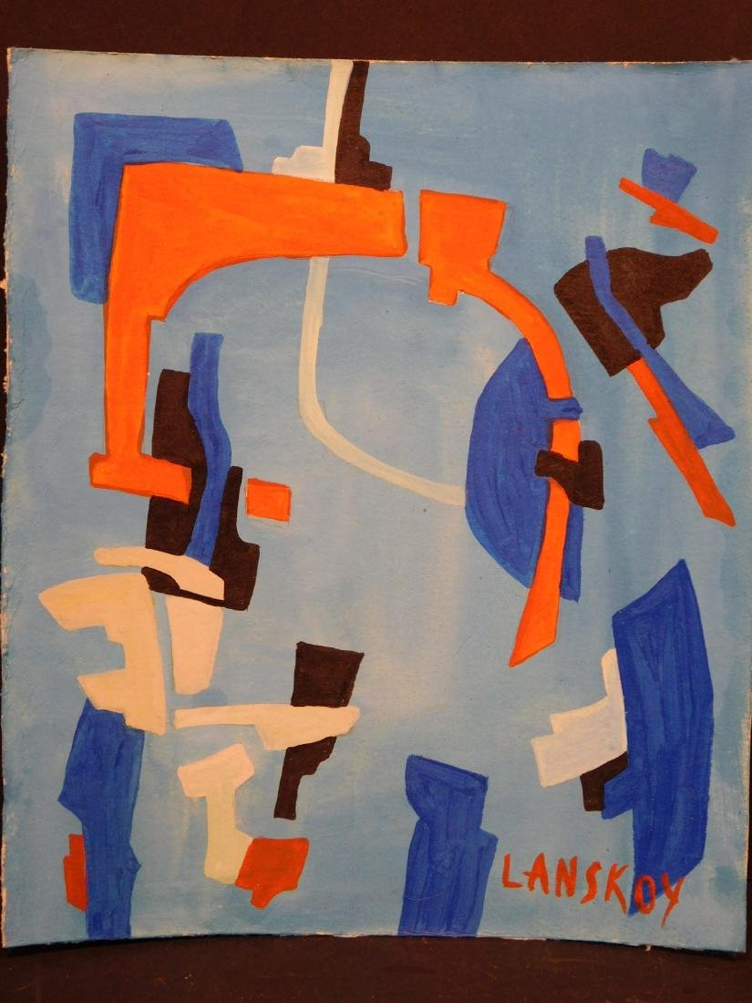 Andre Lanskoy: Abstract Composition - 2