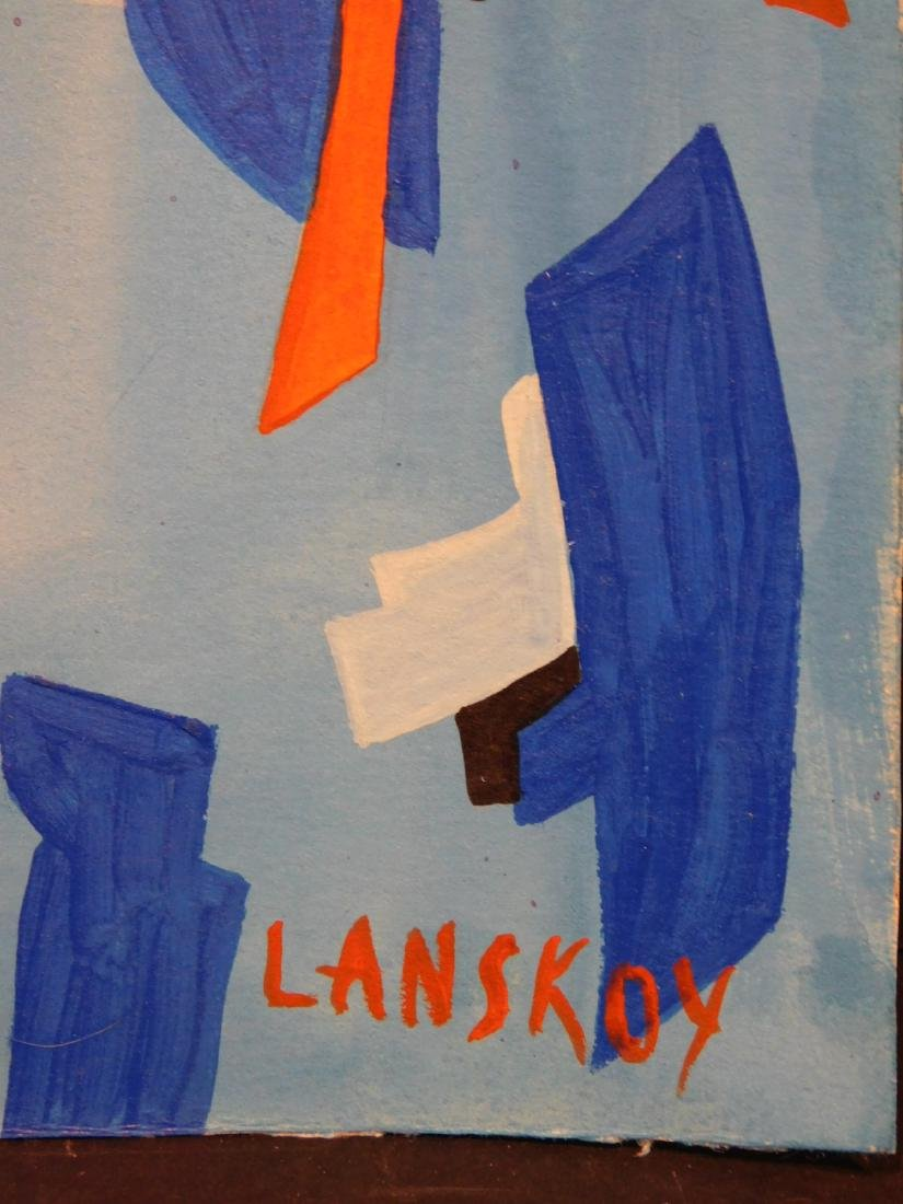 Andre Lanskoy: Abstract Composition - 3