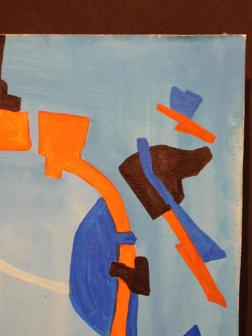 Andre Lanskoy: Abstract Composition - 4