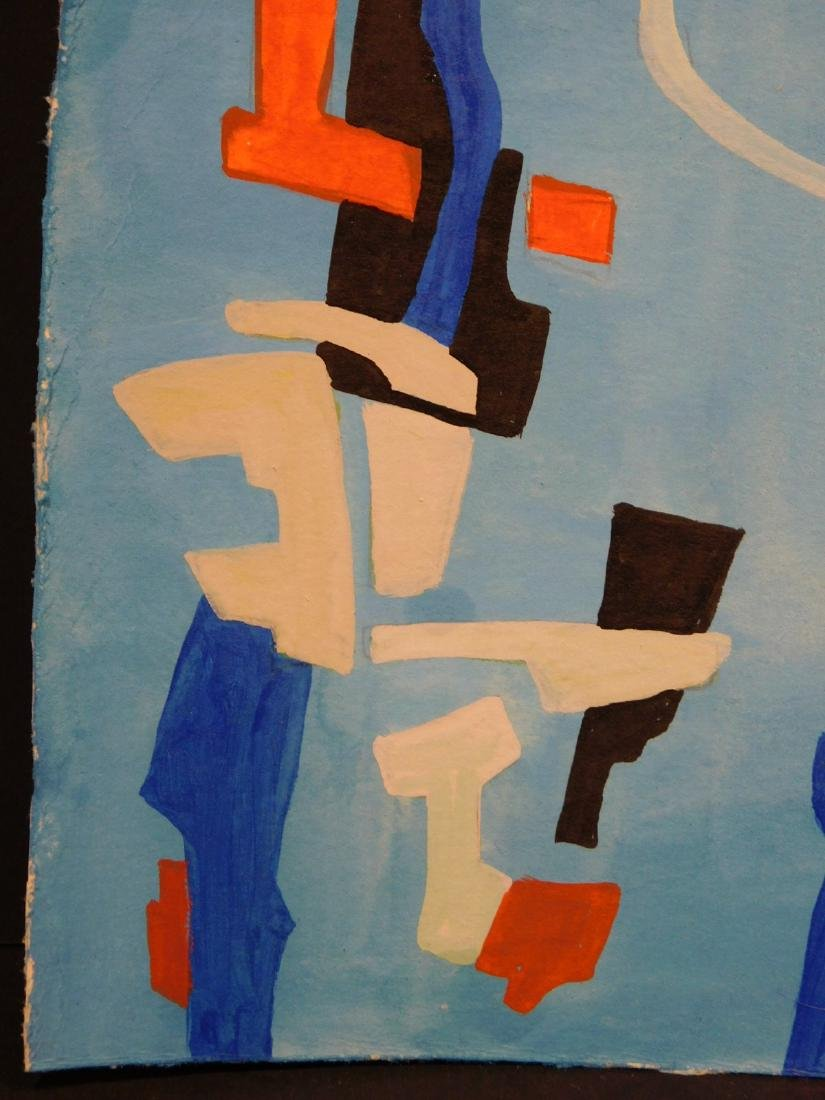 Andre Lanskoy: Abstract Composition - 6