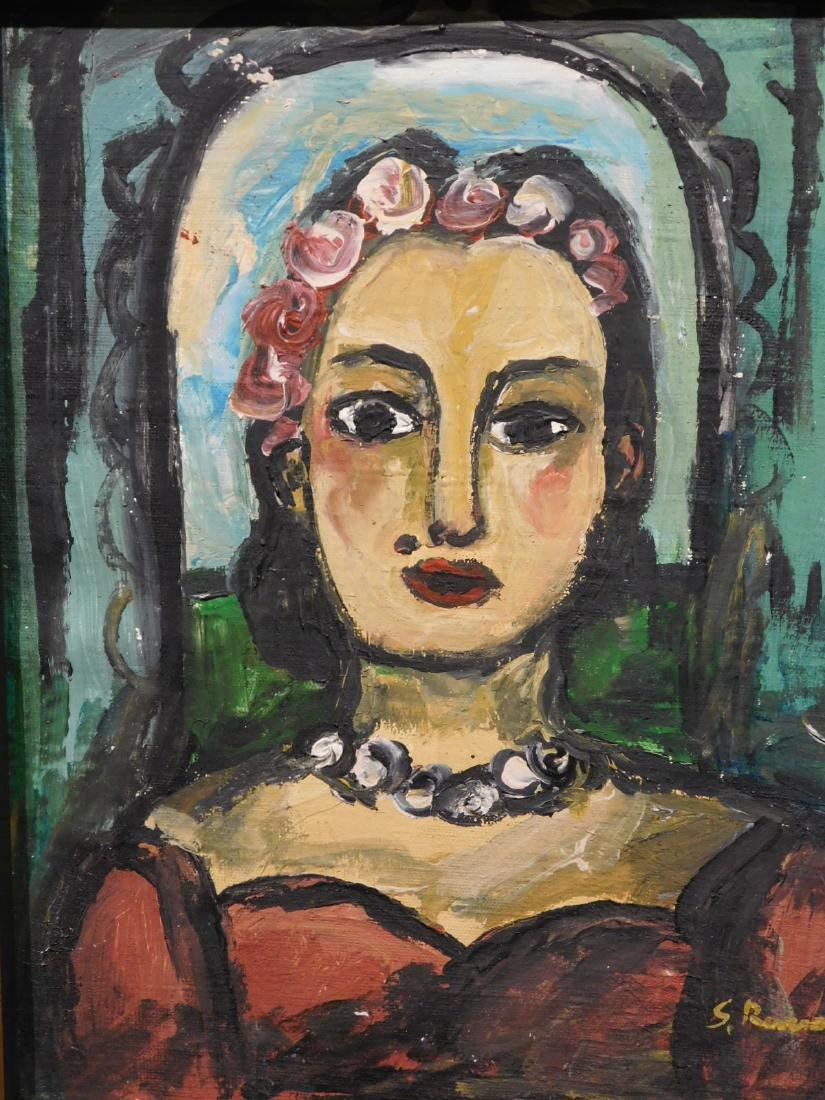 Georges Rouault: Portrait of a Woman - 2