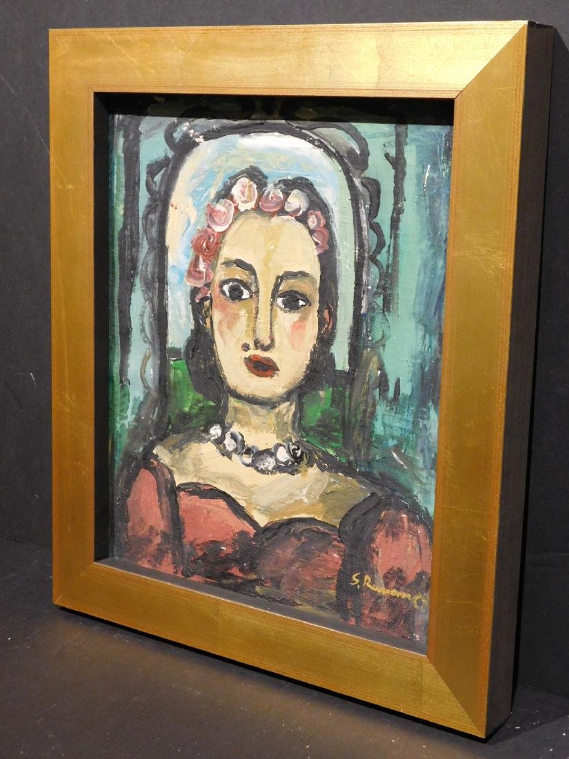 Georges Rouault: Portrait of a Woman - 4