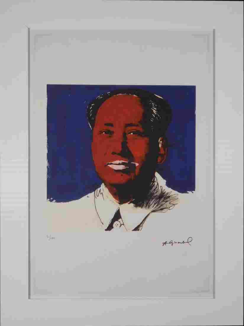 After Andy Warhol: Chairman Mao