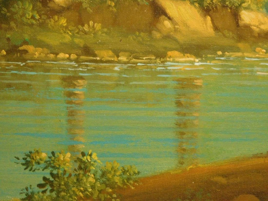 Continental Landscape oil painting - 7