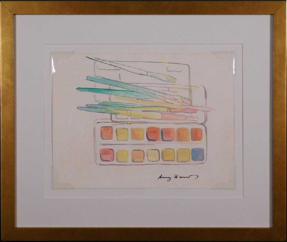 Andy Warhol: Watercolors