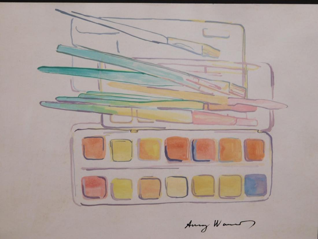 Andy Warhol: Watercolors - 3