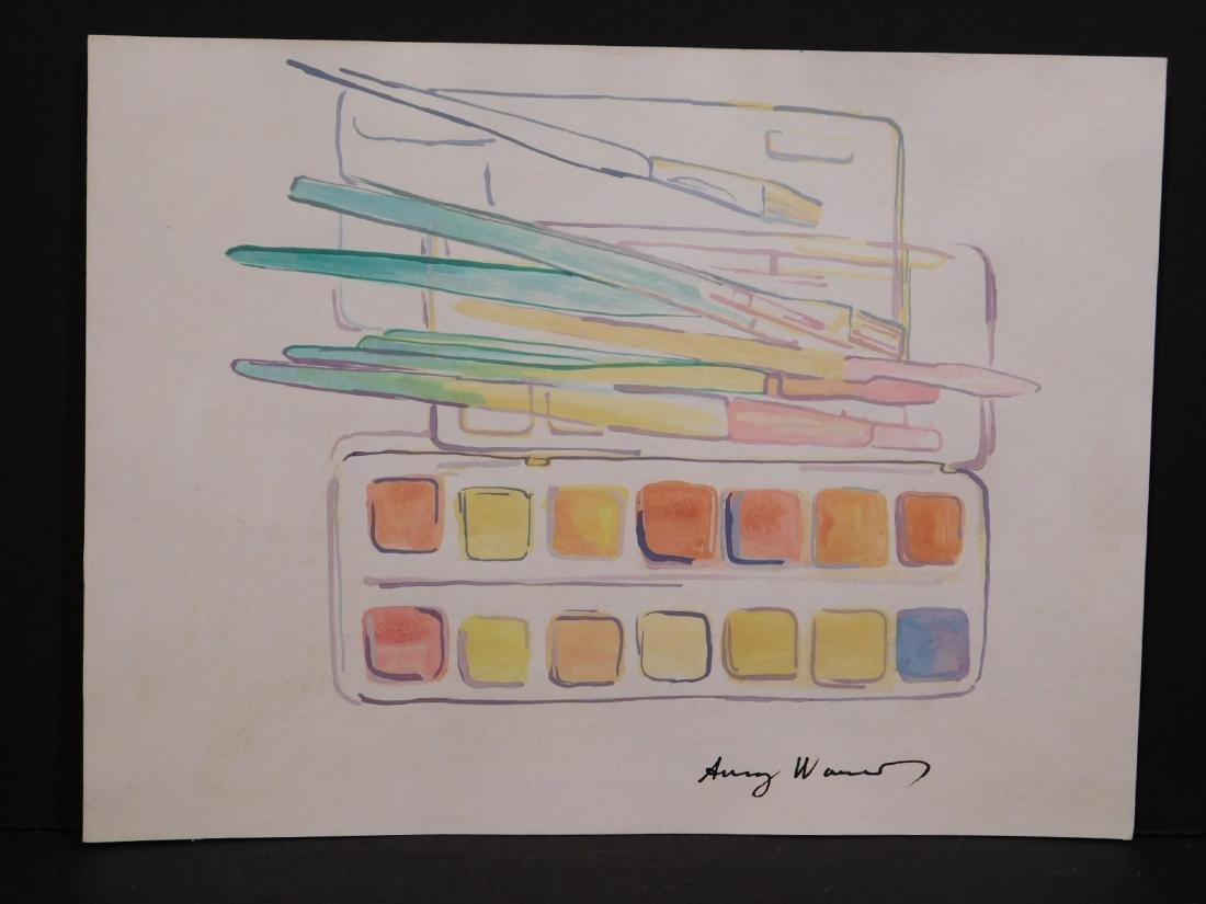 Andy Warhol: Watercolors - 4