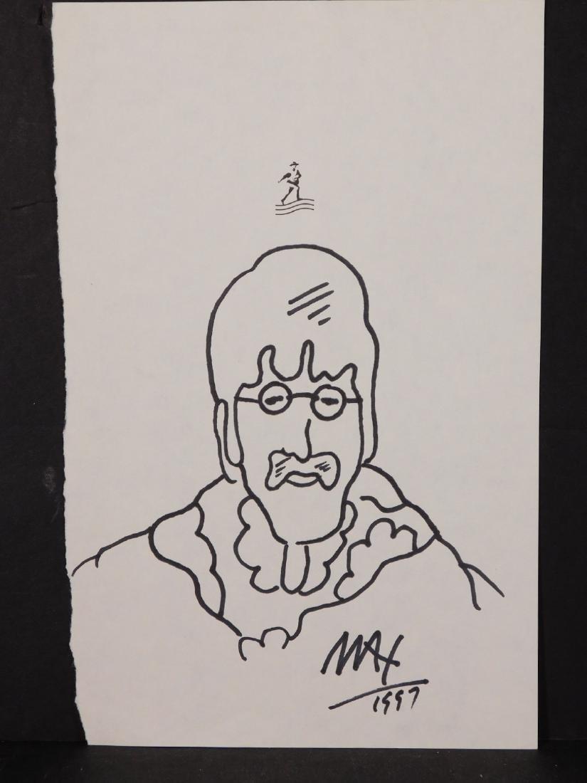 Peter Max: John Lennon - 2