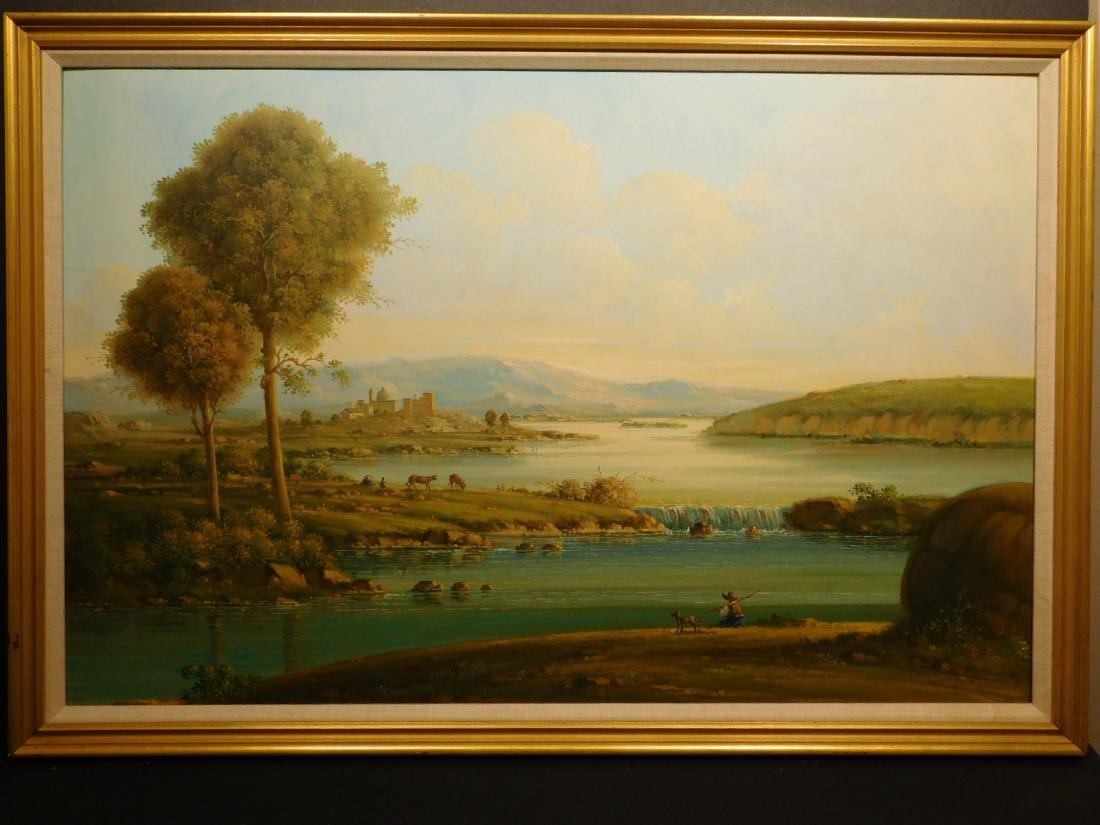 Continental Landscape oil painting - 2