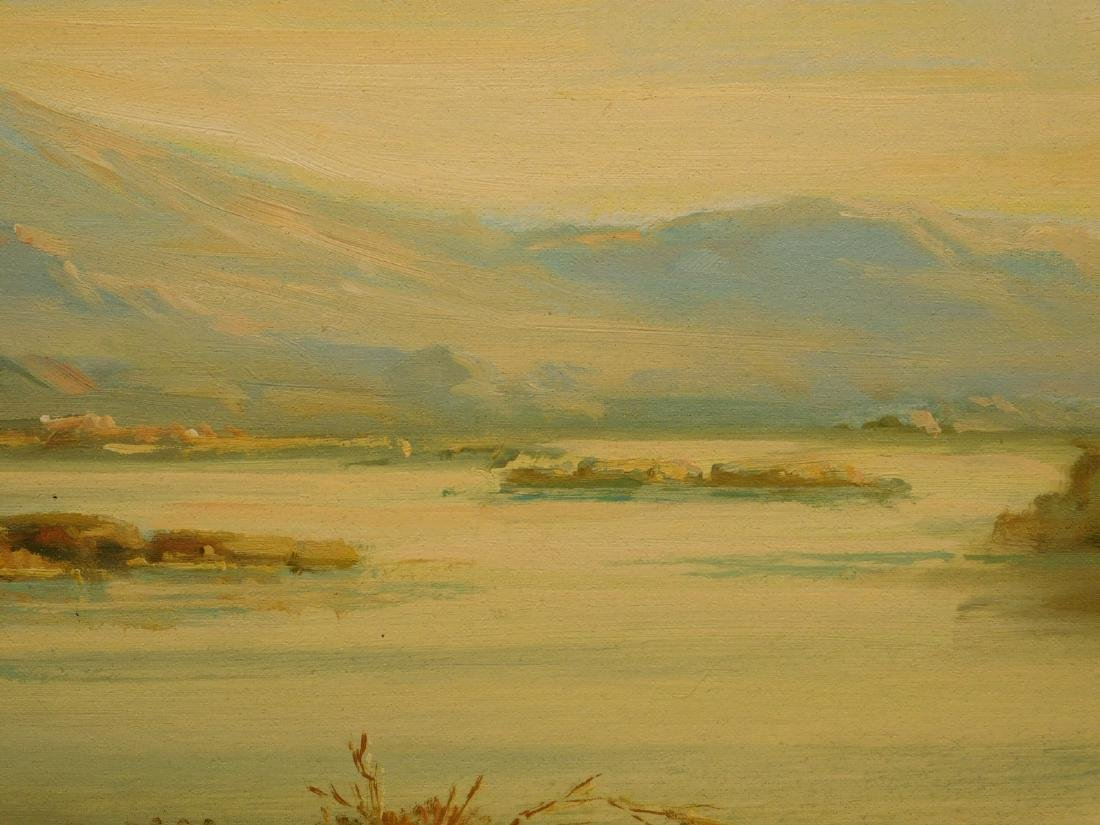 Continental Landscape oil painting - 3