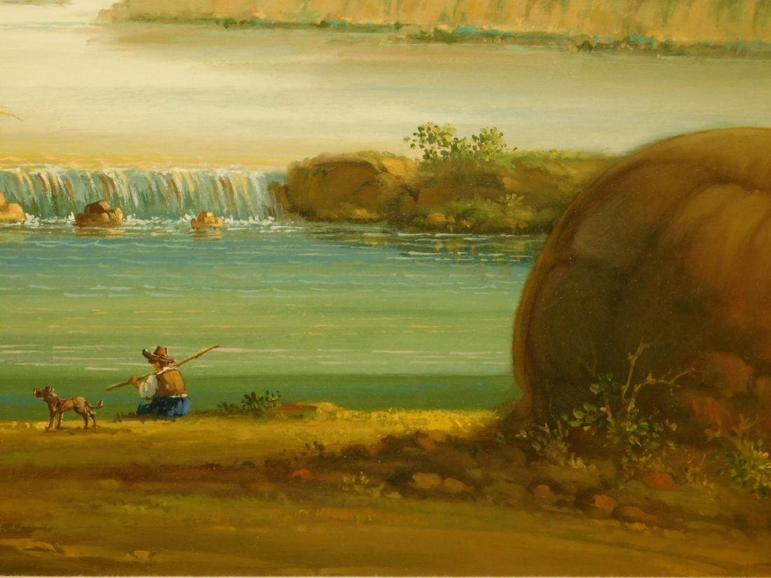 Continental Landscape oil painting - 6