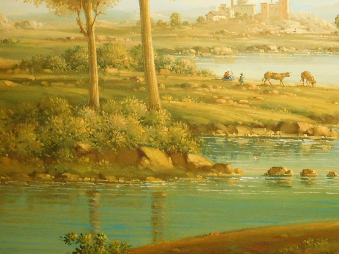 Continental Landscape oil painting - 8