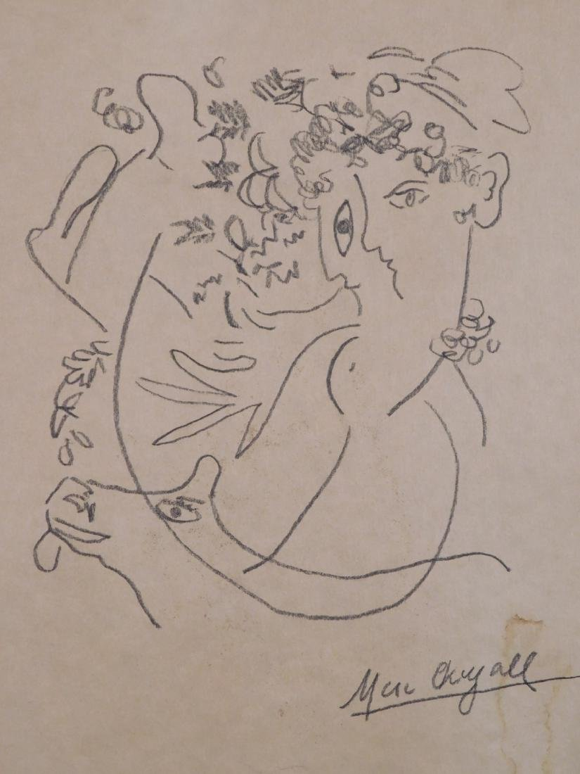 Marc Chagall: Abstract Drawing