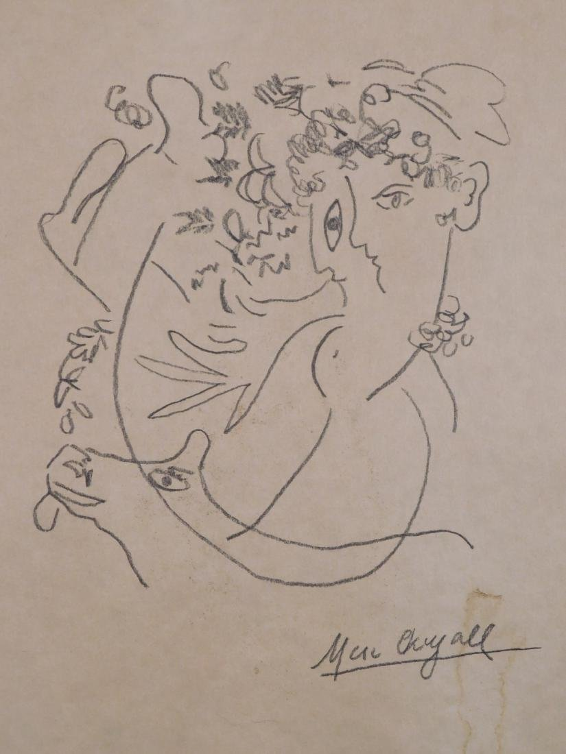 Marc Chagall: Abstract Drawing - 2
