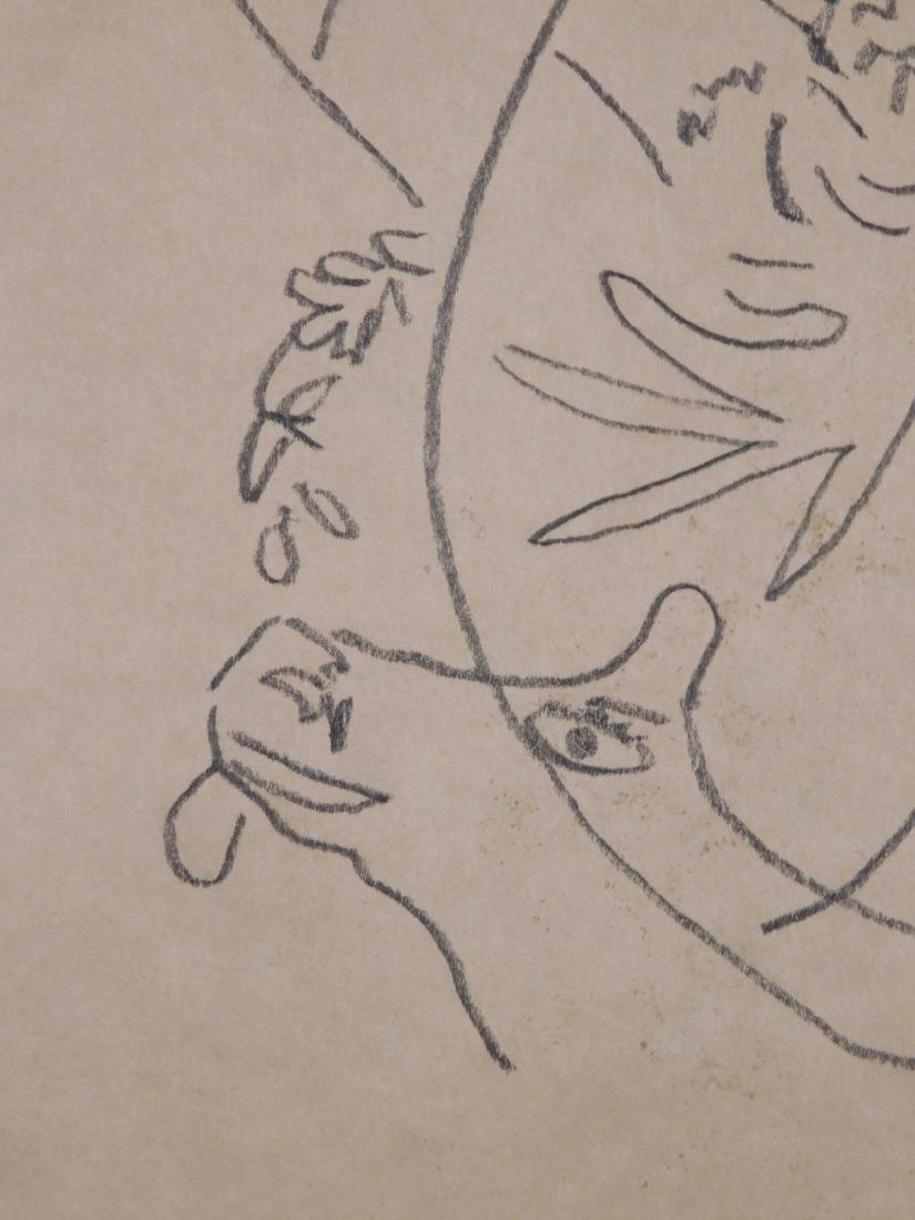 Marc Chagall: Abstract Drawing - 3