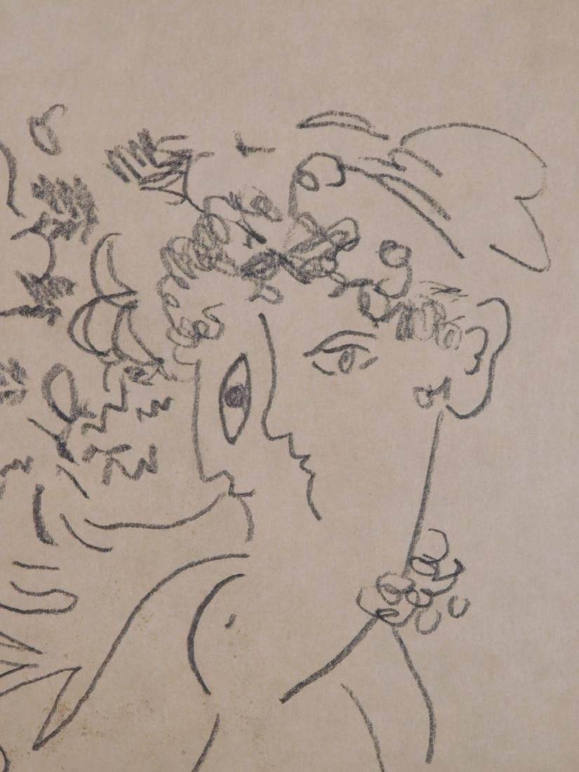 Marc Chagall: Abstract Drawing - 4