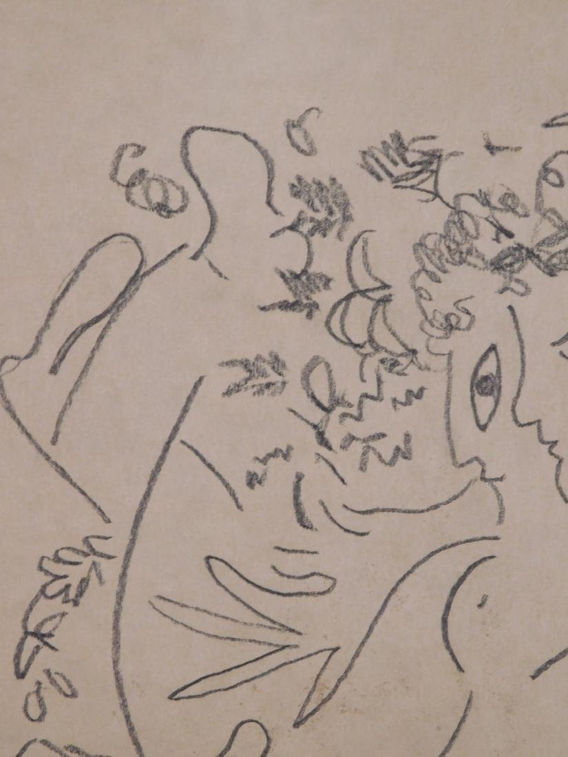 Marc Chagall: Abstract Drawing - 5