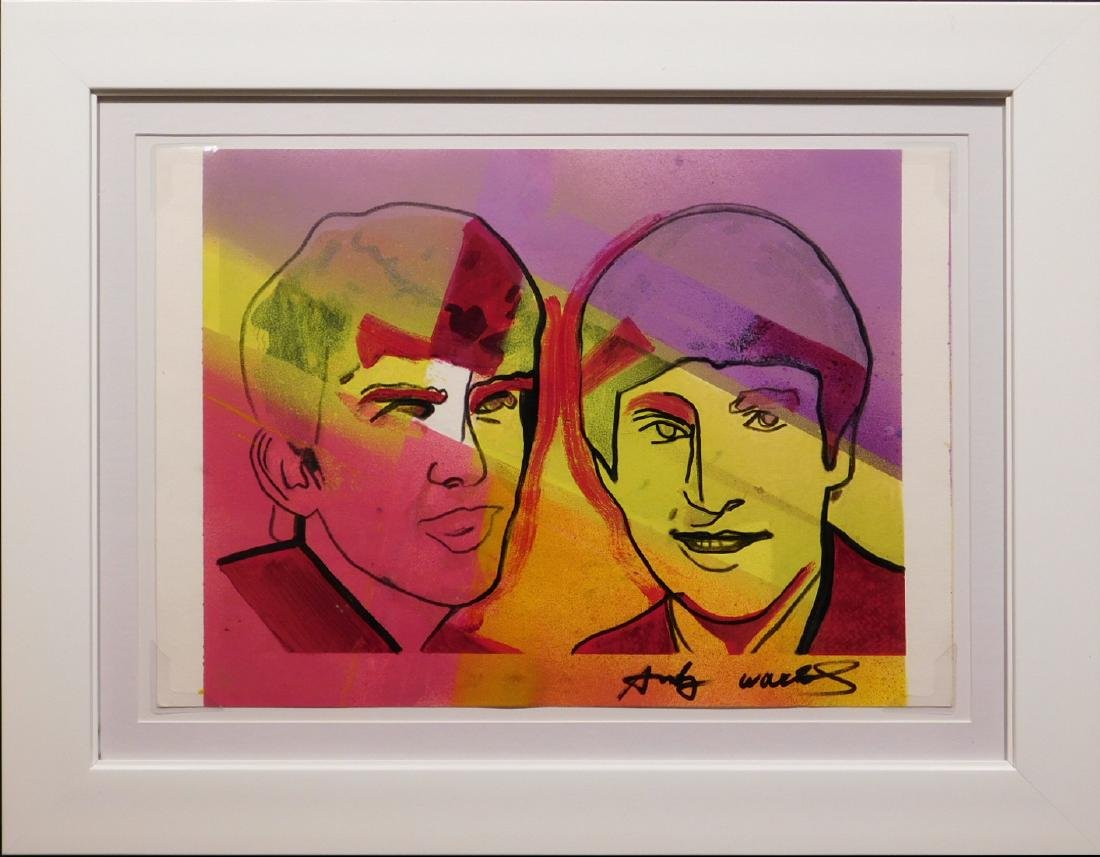 Andy Warhol: John and George (Beatles)