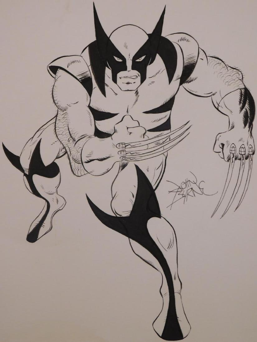 John Byrne: Sketch for Wolverine